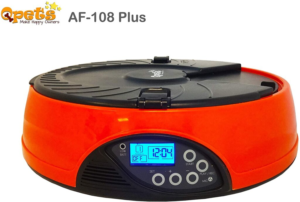 qpets-AF-108-plus-programmable-automatic-pet-feeder-for-cat-dog